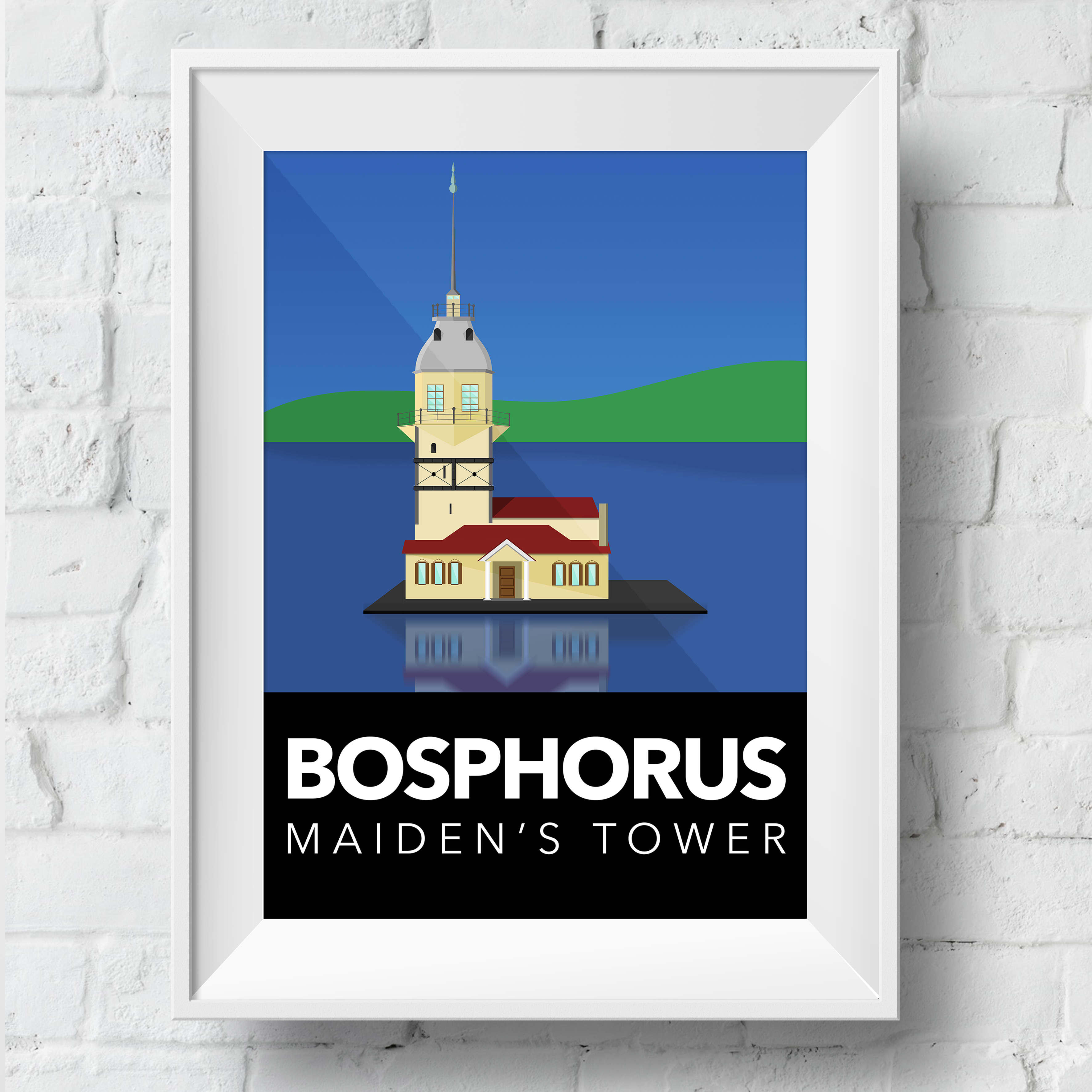 maidens-tower-poster-framed