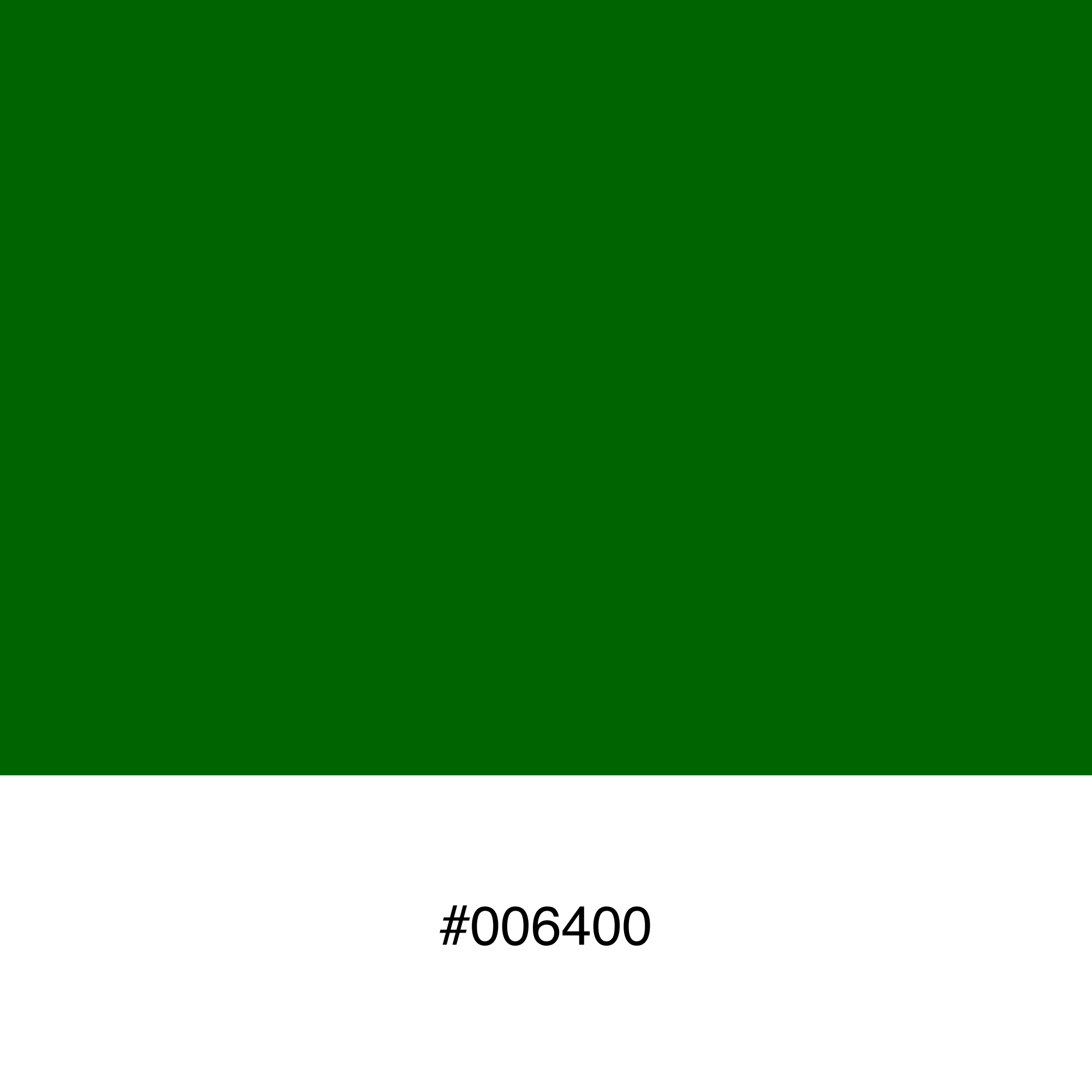 color-swatch-006400