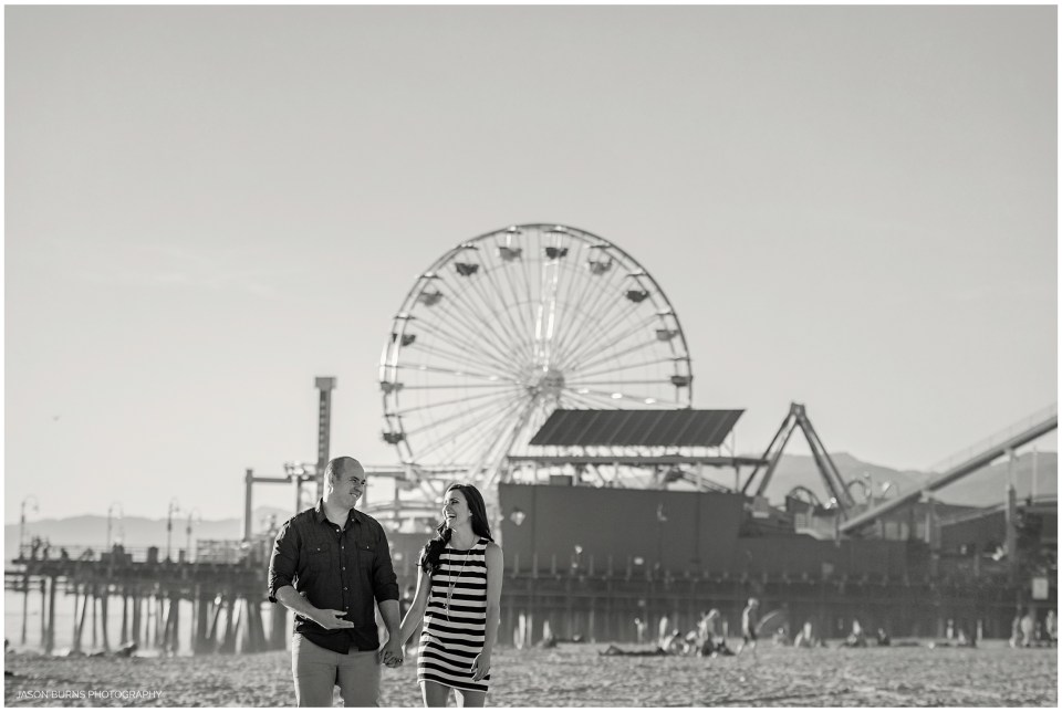Santa Monica Pier Engagement Photography LA Photographer (8)