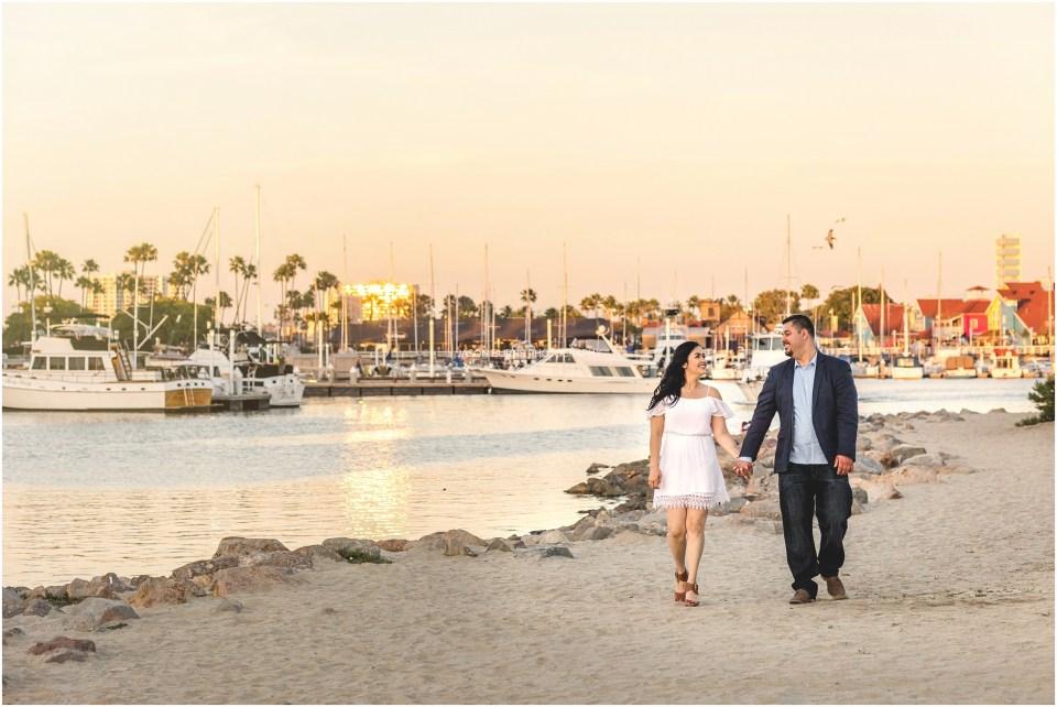 Long Beach Engagement Shoreline Village 08