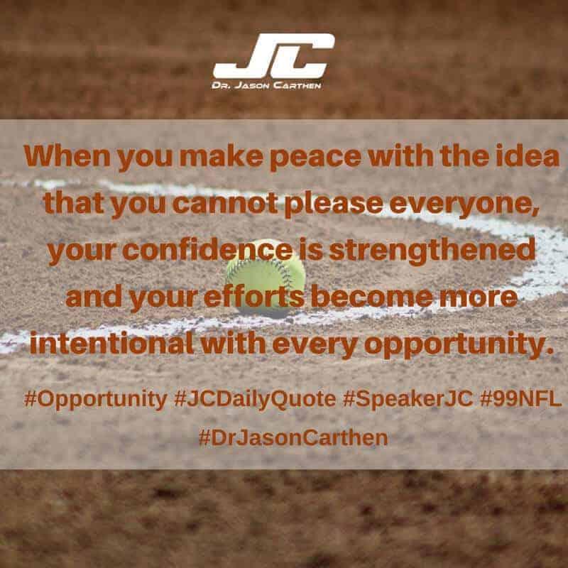 Dr. Jason Carthen: Opportunity