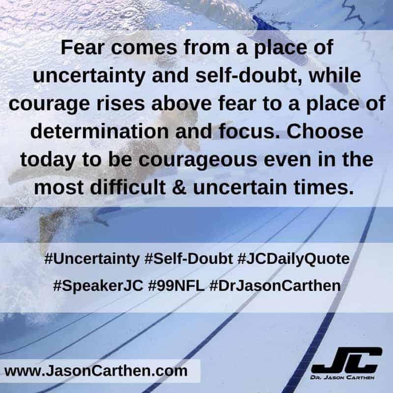 Dr. Jason Carthen: Uncertainty and Self-Doubt