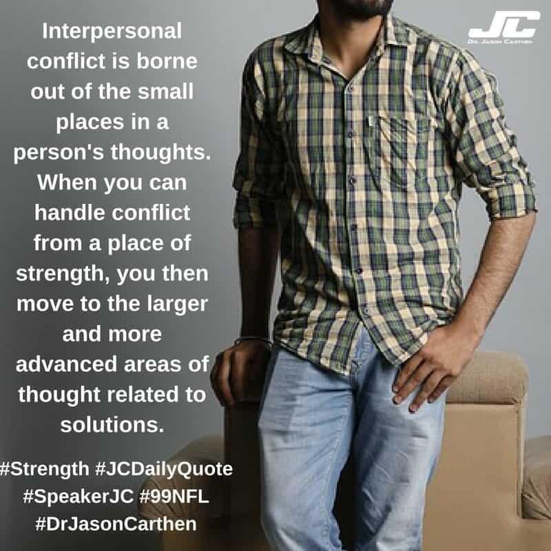 Dr. Jason Carthen: Strength
