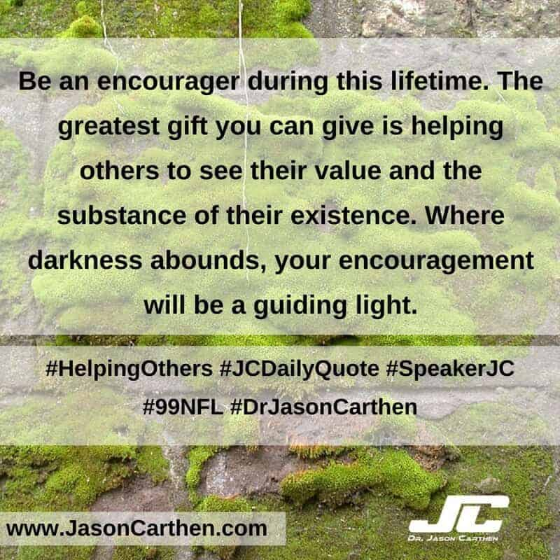 Dr. Jason Carthen: Helping Others