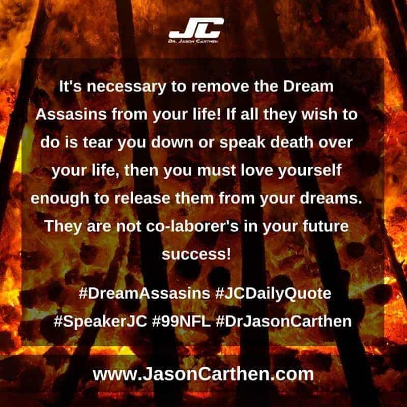 Dr. Jason Carthen: Dream Assasins