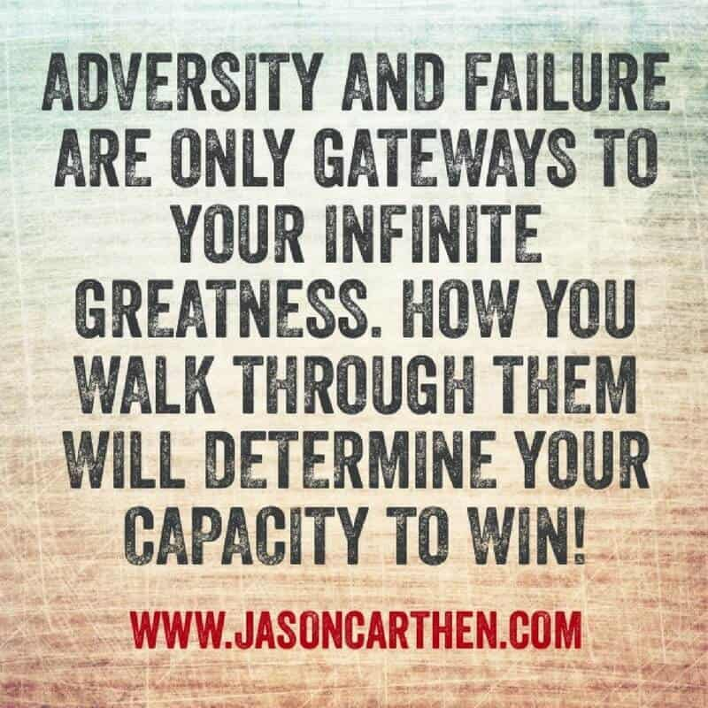 Dr. Jason Carthen: Adversity