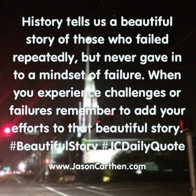 Dr. Jason Carthen Daily Quote: Beautiful