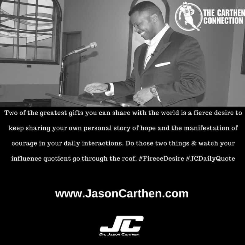 Dr. JasonCarthen: Gifts JC Daily Quote