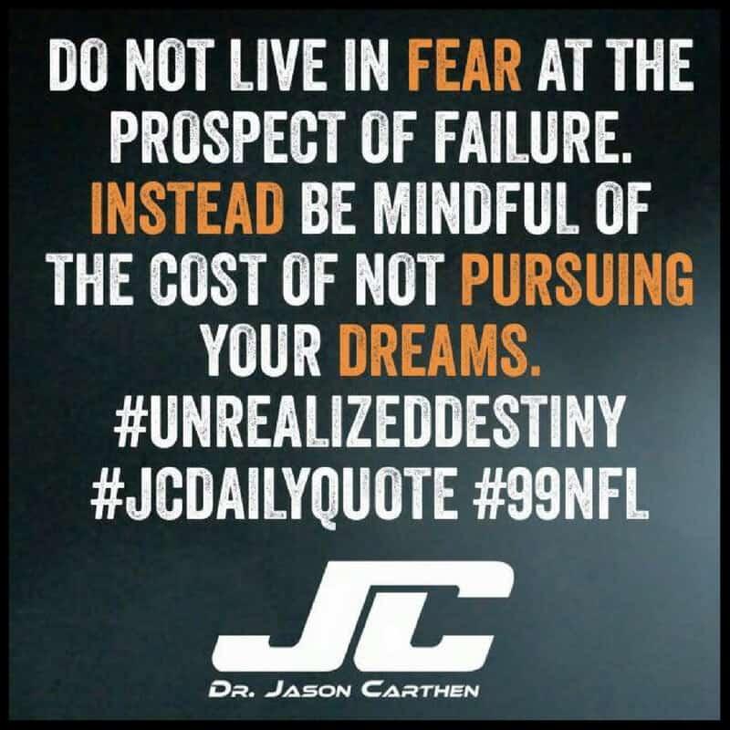 Dr. Jason Carthen: Dreams