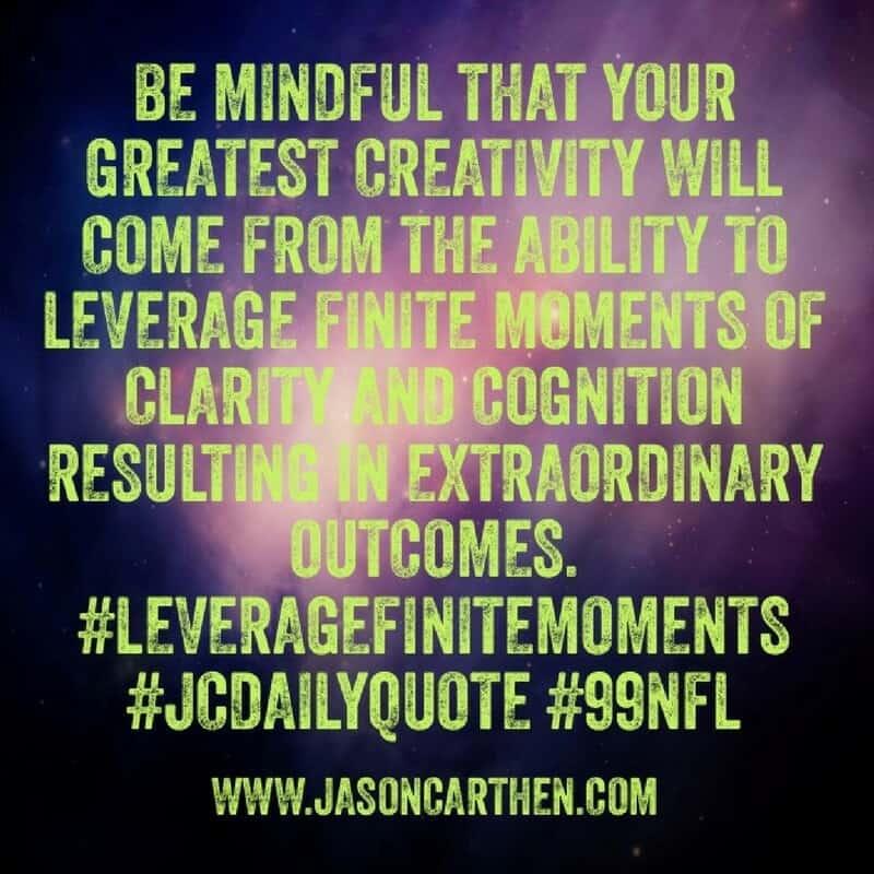 Dr. Jason Carthen: Creativity