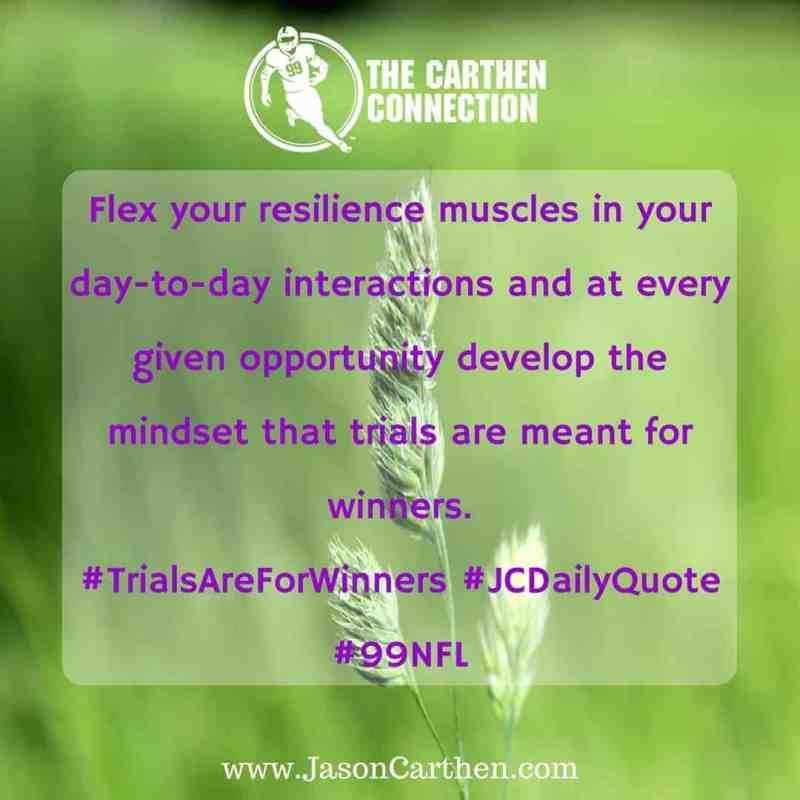 Dr. Jason Carthen: resilience
