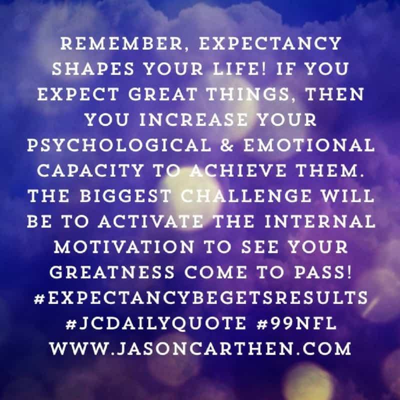 Dr. Jason Carthen: Internal Motivation