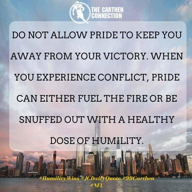Dr. Jason Carthen: Humility
