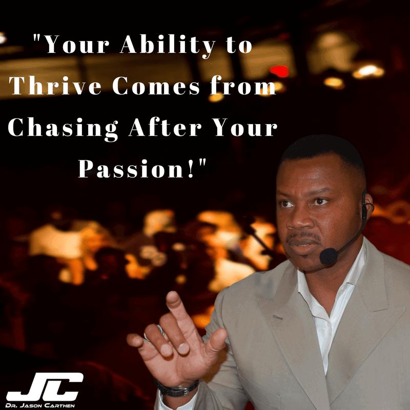 Dr. Jason Carthen: Thrive