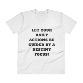 """Destiny Focus"" V-Neck T-Shirt"