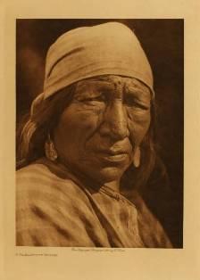 A Blackfoot woman