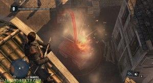 Assassins Creed Rogue- shrapnel grenade