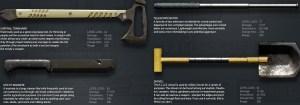 Gage shotgun pack melee weapon