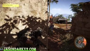 Ghost Recon: Wildlands Closed Beta- taking cover