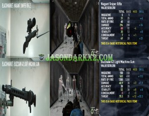Payday 2: Gage Historical pack Primaryy weapons