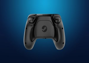 Steam controller bottom