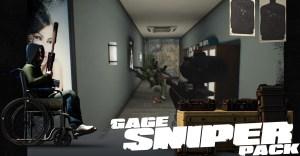 Gage Sniper pack dlc