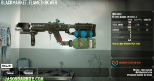 Payday 2 flamethrower magazine mods