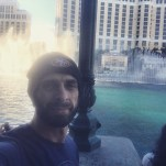 In Vegas with the dancing fountains