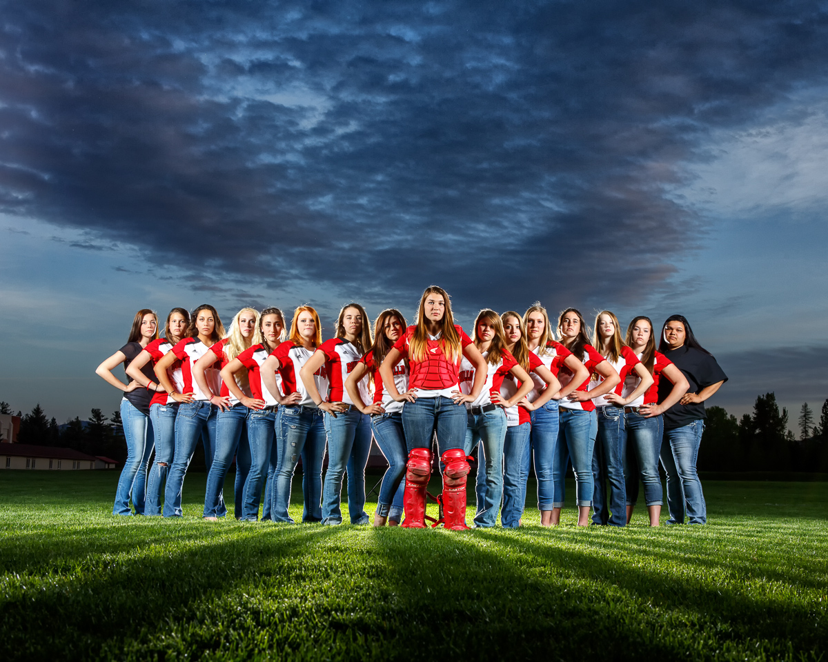 Team Photos By North Idaho Photographer Jason Duchow