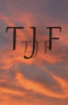 TJF Orange Aglow Logo
