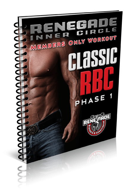 RenegadeICClassicRBC 3DPhase1 The Shocking (But Real) Reason For Your Lack of Progress