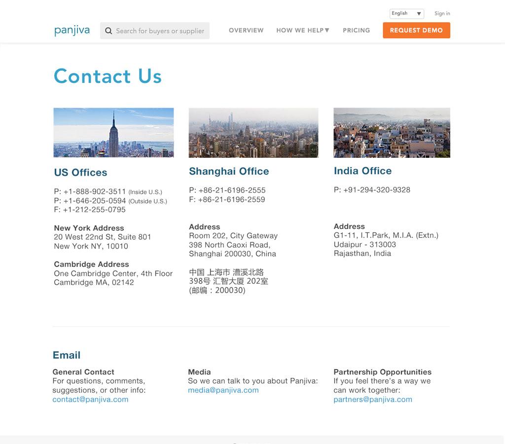Panjiva - Contact comp 2