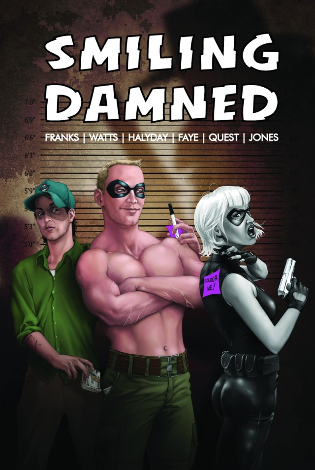 Smiling Damned #1 cover by Graeme Jackson
