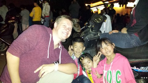 Me with Chinese Kids