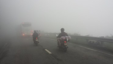Riding Through Clouds