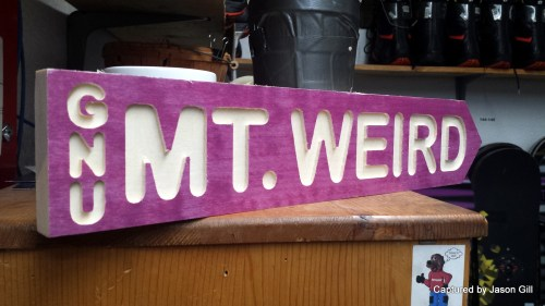Mt. Weird