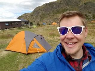 Torres Glacier Gray Tent Jason