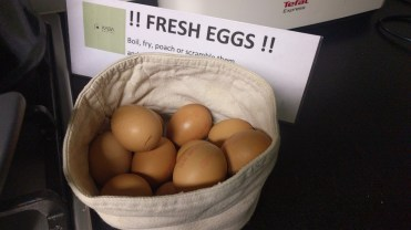 Hostel's Free Eggs