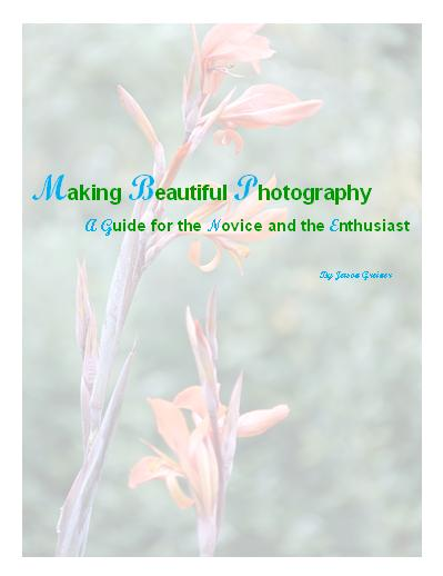 Making Beautiful Photography e-book