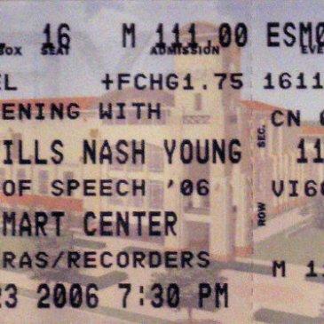 Crosby Stills Nash and Young July 23, 2006