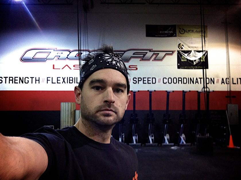 Jason Harper at CrossFit Las Vegas