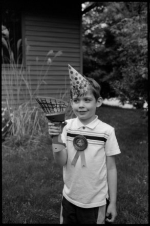 Gabriel, my nephew on his birthday, 2018