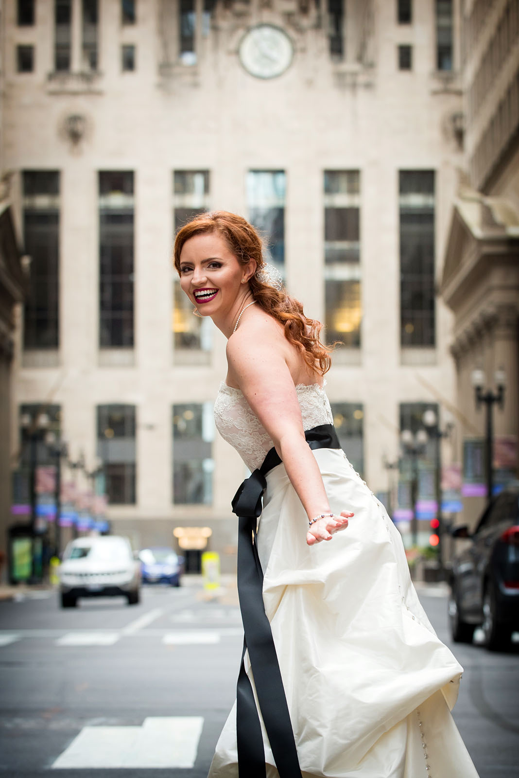 Board Of Trade Bride LaSalle Street Chicago