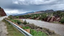 Arkansas River west of Copaxi, CO
