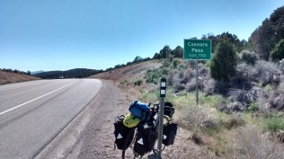 Last summit before Ely, NV