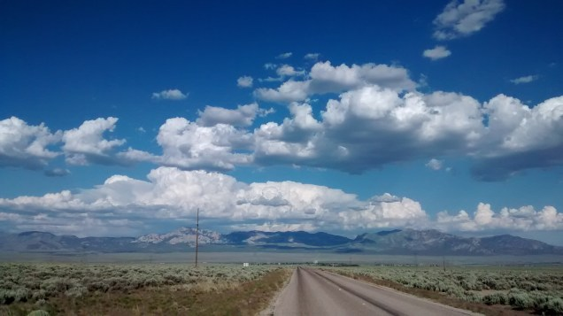 Looking east toward Milford, UT