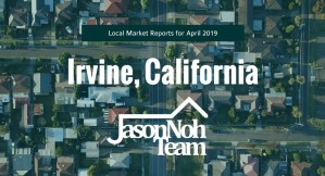 4월 얼바인 부동산 시장 분석, Irvine Real Estate Market Report for April, 2019