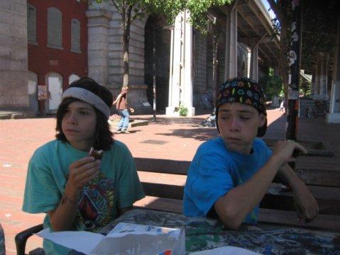 Lipari twins: Andrew and Brendan