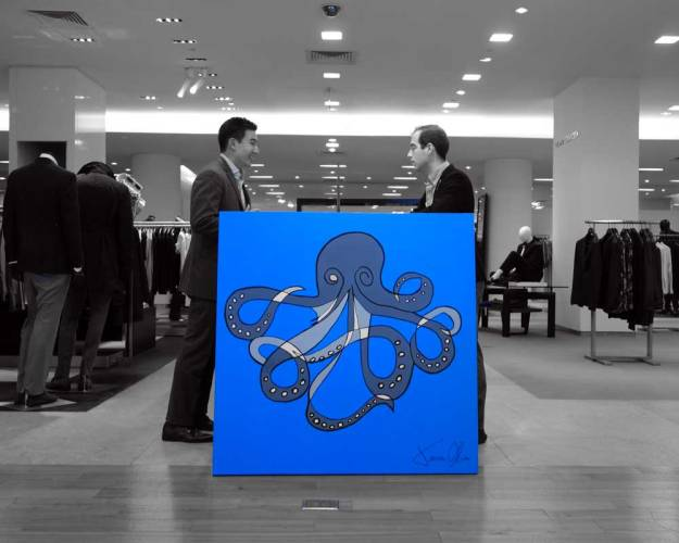 Jason-Oliva-Octopus-Saks-fifth-avenue