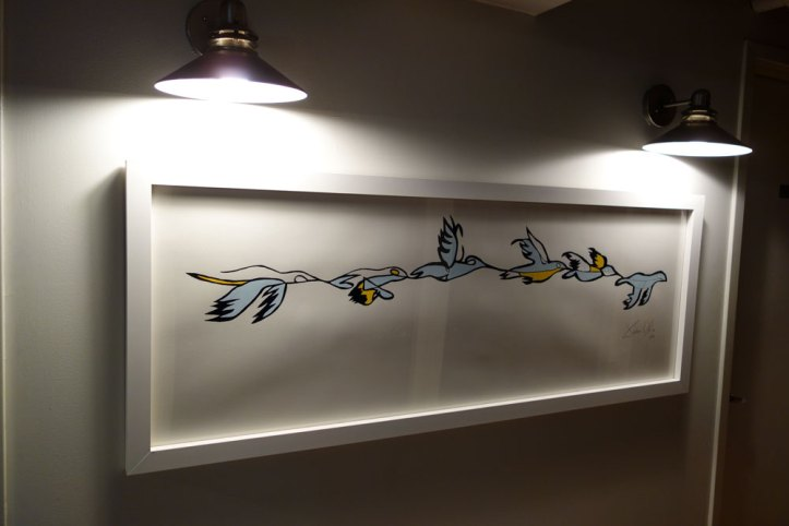 Work on Paper Large Birdsss Jason Oliva